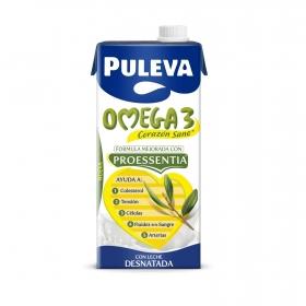 Bebida láctea desnatada Omega 3 Puleva brik 1.