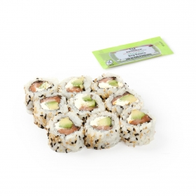 Chesse salmón roll Sushi Daily