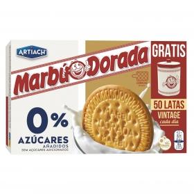Galletas maría 0% azúcares Dorada Marbú 400 g.