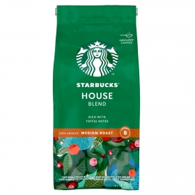 Café molido house blend Starbucks 200 g.