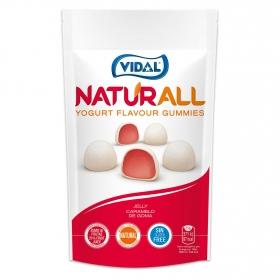 Caramelos de goma sabor yogur Naturall Vidal doy pack 180 g.