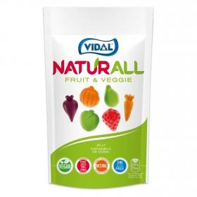 Caramelos de goma fruit & Veggie Naturall Vidal 180 g.