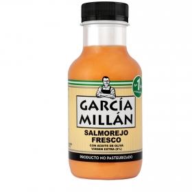 Salmorejo fresco con aceite de oliva virgen extra García Millán 330 ml.