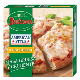 Pizza extra de queso American Style Buitoni 410 g.