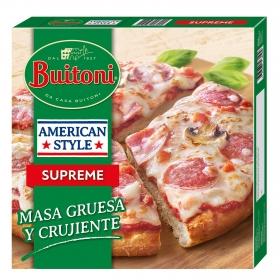 Pizza con champiñones supreme American Style Buitoni 420 g.