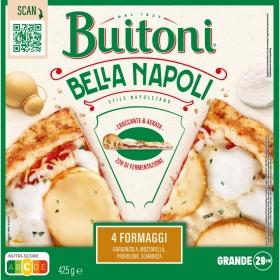 Pizza 4 quesos Bella Napoli Buitoni 425 g.