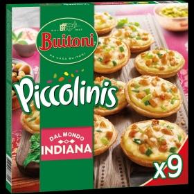 Piccolinis de pollo especiado y curry Indiana Buitoni 270 g.