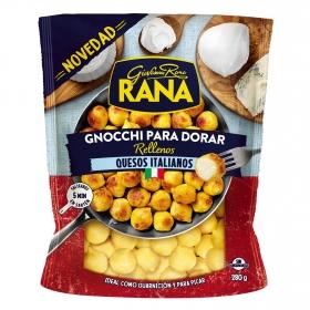 Gnocchi rellenos de queso italiano  para dorar Rana