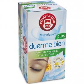 Infusión en bolsitas Duerme Bien Pompadour 20 ud.