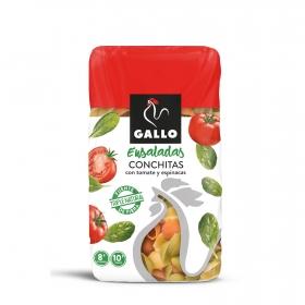 Conchitas de tomate y espinacas Gallo 500 g.