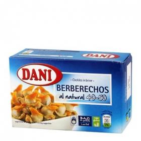 Berberechos al natural Dani sin gluten 62 g.