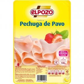 Pechuga de pavo El Pozo sin gluten 110 g.