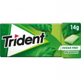 Chicles sabor hierbabuena Trident 14,5 g.