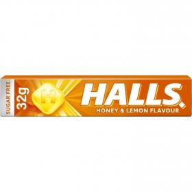 Caramelos sabor miel y limón Halls 33 g.
