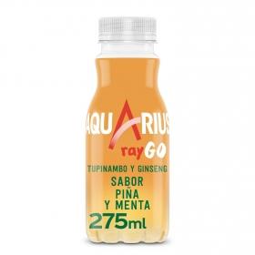 Bebida Isotónica Aquarius Raygo sabor piña y menta 25,5 cl.