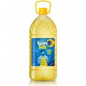 Aceite de girasol Koipesol garrafa 5 l.
