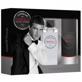 Estuche Antonio Banderas Diavolo: colonia 100 ml y desodorante 100 ml.