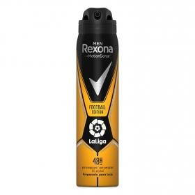 Desodorante en spray Footbal Edition Rexona 250 ml.
