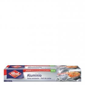 Papel de aluminio Albal 50 metros.
