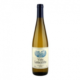 Vino blanco Viña Lameiriña botella 75 cl.