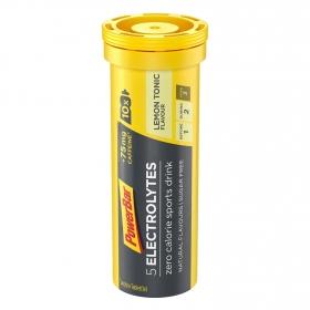 Bebida isotónica electrolytes Powerbar sin azúcar sabor limón 10 comprimidos