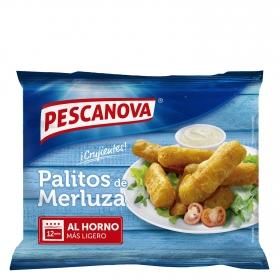 Palitos rebozados de merluza Pescanova 300 g.