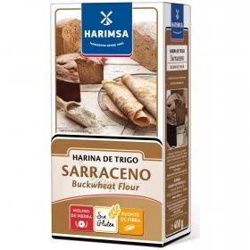 Harina de trigo sarraceno Harimsa sin gluten 400 g.