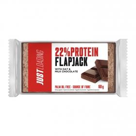 Barritas de proteína de avena y chocolate con leche Just Protein 60 g.