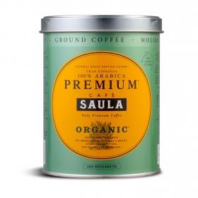 Café molido natural ecológico Saula 250 g.