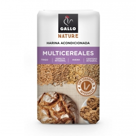 Harina de multicereales Gallo Nature 900 g.
