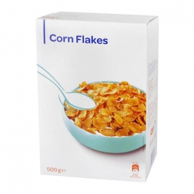 Cereales de maíz Corn Flakes 500 g.
