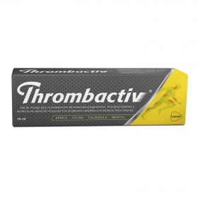 Gel de masaje Thrombactiv Lacer 70 ml.