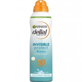 Bruma protectora refrescante FP 50 UV Water Garnier Delial 200 ml.