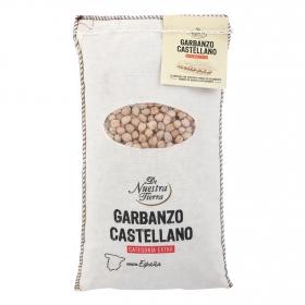 Garbanzo castellano categoría extra De Nuestra Tierra 1 kg.