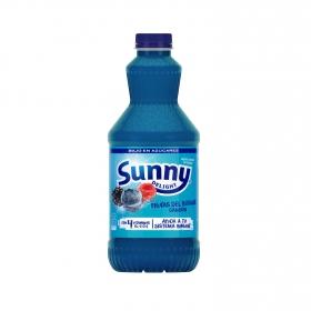 Zumo de frutas del bosque Sunny Delight Blue 1,25 l.