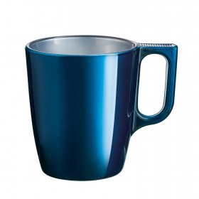 Mug Vidrio LUMINARC Flashy Petrolet 25 cl - Azul
