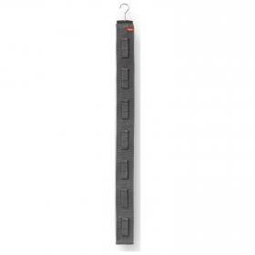 Colgador Bolsos con Velcro RAYEN 7 Colgadores - Gris