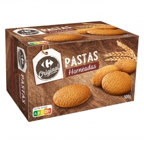 Galletas horneadas Carrefour 500 g.
