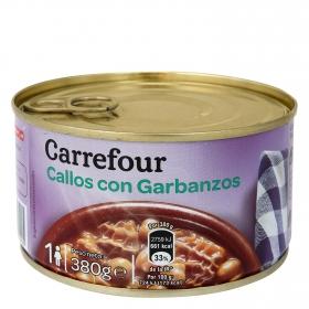 Callos con garbanzos Carrefour 380 g.