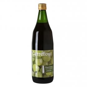Mosto Carrefour blanco botella 1 l.