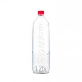 Agua mineral Lanjarón natural 1,25 l.