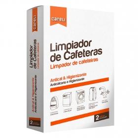 Limpiador de cafeteras Careli pack de 2 unidades de 100 ml.