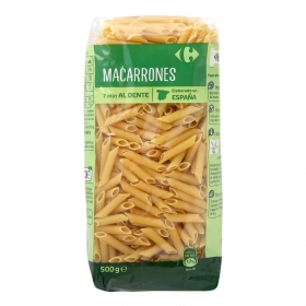 Macarrones Carrefour 500 g.