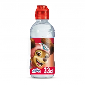 Agua mineral Lanjarón natural personajes 33 cl.