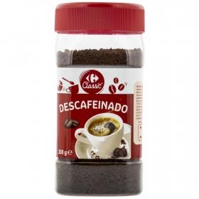 Café soluble descafeinado Carrefour 200 g.