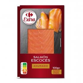 Salmón ahumado escocés Carrefour 100 g.