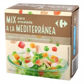 Ensalada Mediterránea de atún Carrefour 157 g.