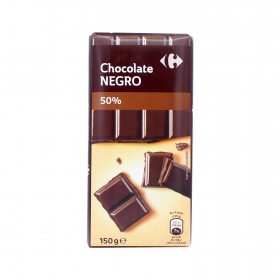Chocolate 50% Carrefour 150 g.