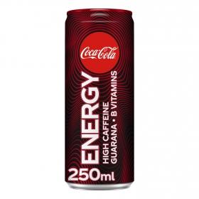 Bebida energética Coca Cola Energy lata 25 cl.