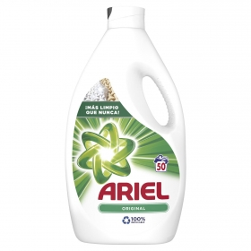Detergente líquido Actilift Ariel 50 lavados.